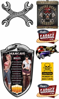 Items in Garage Man Cave Signs