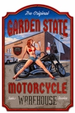 Garden State Day Metal Sign