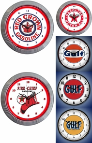 Items in Gas Station Clocks