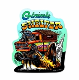 Gimme Shelter Metal Sign
