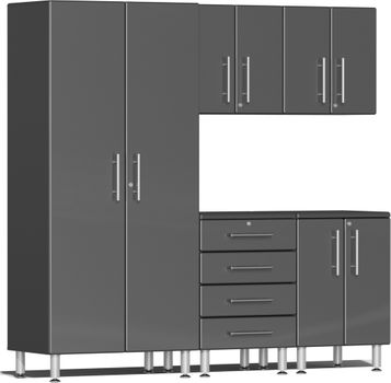 Graphite Grey Metallic MDF 5-Piece Kit