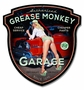 Grease Monkey Metal Sign
