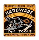 Hardware And Tools Metal Sign