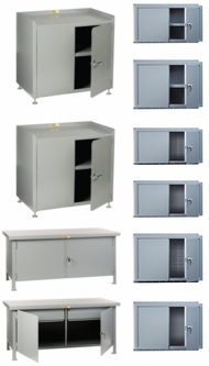 Items in Heavy Duty Welded Steel Cabinets