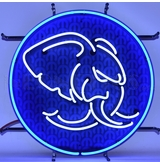 Hellephant Neon Sign