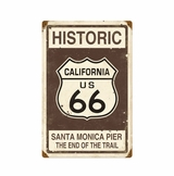 Historic 66 Metal Sign
