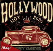 Hollywood Hotrods Signs