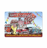 Honest Johns Used Cars Metal Sign