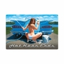 Hot Rear Ends Metal Sign