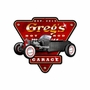Hot Rod Garage Personalized Metal Sign