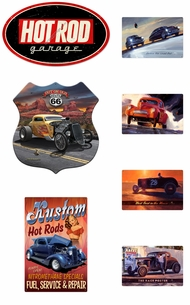 Items in Hot Rod Signs