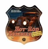 Hot Rod Zombies Sign