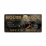 House Of Kool Metal Sign