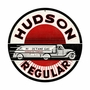 Hudson Gasoline Metal Sign
