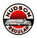 Hudson Regular Metal Sign