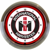 International Harvester Neon Clock