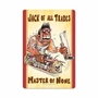 Jack Of All Trades Metal Sign