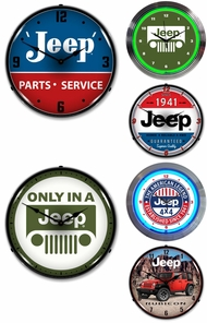 Items in Jeep Clocks