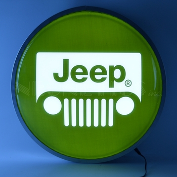 Jeep LED Backlit Sign