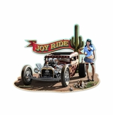 Joy Ride Mild Metal Sign