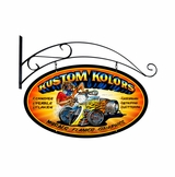 Kustom Kolors Metal Sign