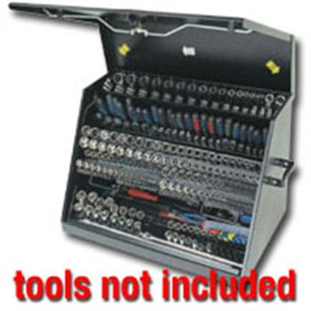 Large Mobile Toolbox - Black