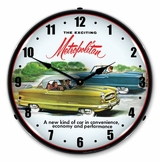 LED Lighted 1955 Metropolitan Clock