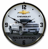 LED Lighted 2017 Chevrolet Silverado Clock