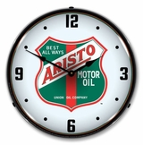 LED Lighted Arista Motor Oil Clock
