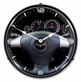LED Lighted C6 Corvette Dash Clock