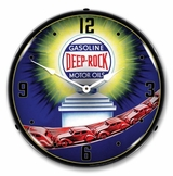 LED Lighted Deep Rock 2 Clock