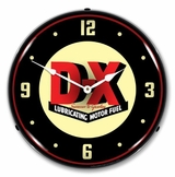 LED Lighted DX Gas Clock