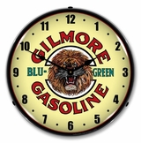 LED Lighted Gilmore Gas Clock