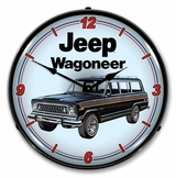 LED Lighted Jeep Wagoneer Clock