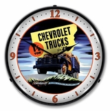 LED Lighted 1949 Chevrolet Truck Clock