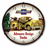 LED Lighted 1954 Chevrolet Truck Clock