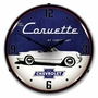 LED Lighted 1954 Corvette Clock
