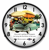 LED Lighted 1955 Bel Air Convertible Clock
