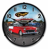 LED Lighted 1955 Bel Air Diner Clock