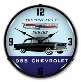 LED Lighted 1955 Chevrolet One Fifty Clock