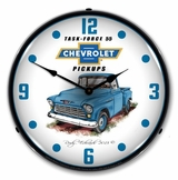 LED Lighted 1955 Chevrolet Truck Clock