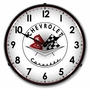 LED Lighted 1956 57 Corvette Clock