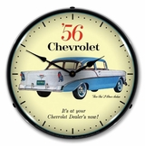 LED Lighted 1956 Chevrolet  Two Ten Clock