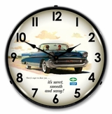 LED Lighted 1957 Bel Air Convertible Clock