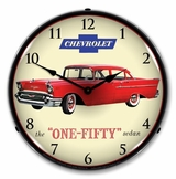 LED Lighted 1957 Chevrolet One Fifty Clock