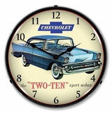LED Lighted 1957 Chevrolet Two Ten Clock