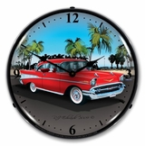 LED Lighted 1957 Chevy Clock