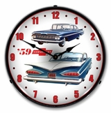 LED Lighted 1959 Chevrolet Clock
