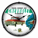 LED Lighted 1959 Chevrolet Pickup Clock