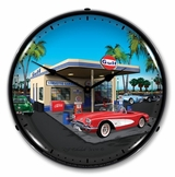 LED Lighted 1959 Corvette Clock